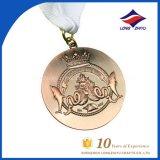 De Medaille van de Herinnering van de Medaille van de Toekenning van de Vergadering van de Sport van de Medaille van het Koper van het Metaal van de douane