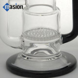Reciclar Bend Neck Glass Water Pipe Smoking Pipe (BY 001)
