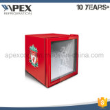 American Style cristal frontal vertical Mini Mini-bar Nevera