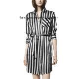 Silk Charmuse Long Shirts