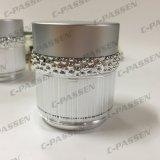 化粧品の包装のための新しい到着30g 50gの贅沢な銀製のアクリルのクリーム色の瓶(PPC-ACJ-123)
