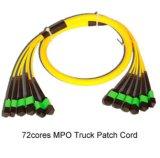 mm Multi - de Vezel Optische MPO/MTP Patchcord van de Kern