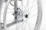 Peso leggero di alluminio, freno a mano, sedia a rotelle, (AL-001A)