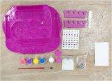 Schittert de Geschilderde Kunst van jonge geitjes DIY de speelgoed-Spijker van de Reeks Salon