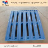 Paleta de acero hecha frente doble galvanizada almacenaje modificada para requisitos particulares del metal del almacén