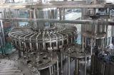 Linha de produção de enchimento quente lavagem do suco do chá, enchimento, máquina de enchimento 3 in-1 Monobloc tampando