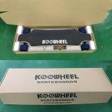 Patín eléctrico de Koowheel del patín de Longboard