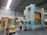 Coil Sheet Automatic Feeder with Straightener and Uncoiler in Tool Machine