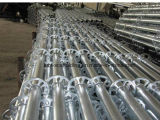 熱いすくいの構築のための電流を通されたRinglockの足場標準か縦のポスト