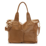 Sac d'emballage de cuir véritable de Madame Bag Women Designer Handbag d'OEM