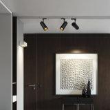 7W / 10W / 15W / 20W / 30W Anti-Glare COB Éclairage de piste LED avec angle de rayon étroit pour magasin de vêtements, centre commercial, galerie d'art