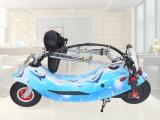 Motocicleta elétrica com o motor 250W sem escova