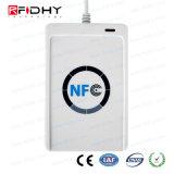 Lecteur de cartes sans contact PC-Joint du lecteur ACR122u NFC de 13.56MHz USB MIFARE