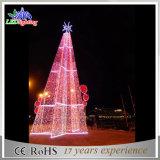 Дешевая рождественская елка красного цвета СИД беспроволочная освещает свет рождественской елки