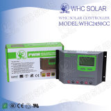 Contrôleur neuf 50A de charge de panneau solaire de batterie avec l'USB