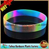 Código de impressão promocional Pulseira de silicone com Thb-008