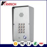 Промышленный общественный телефон непредвиденный двери с кнопочной панелью освещения для двери открытой (KNZD-43L)