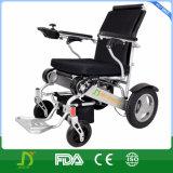 Кресло-коляска силы батареи лития облегченного портативного алюминия перемещения 2016 складывая электрическая в автомобиле, самолете, метро