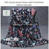 Повелительница напечатанная ротангом шали анакардии 100% Viscose самым новым способа Шарф