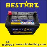 Batterij van de Auto van het Onderhoud van Bestart de ns60L-Mf Verzegelde Vrije