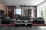 Sofá moderno do couro da parte superior da mobília (SBO-BZ-2992)