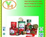 Fornecedor enlatado do OEM da alta qualidade da pasta de tomate