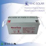 12V 150Ah AGM de ciclo profundo de la batería para el sistema solar de UPS