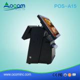 POS-A15 15,6 pouces I3 I5 RFID Msr Touch Terminal POS Tout en un avec imprimante