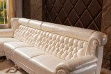 現代ホテルのホーム本革のソファーベッド