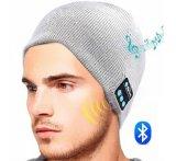Sombrero caliente Cap Beanie inteligente inalámbrica Bluetooth con auriculares manos libres altavoz