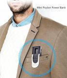 Batería móvil de la potencia de la fuente de alimentación mini 3000mAh con la luz del LED para el recorrido