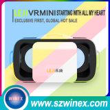 Cor azul para vidros do vídeo 3D da caixa de Vr mini