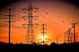 Gitter-Stahl-Aufsatz des doppelten Kreisläuf-220kv elektrischer
