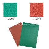 Винил настила PVC красного цвета высокого качества крытый резвится пол на настольный теннис 4.5m