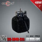 E-MARK a reconnu 5 la lumière de travail pilotant de véhicule de pouce 48W DEL