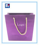 Saco de compra de papel profissional com logotipo feito sob encomenda
