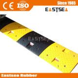 Negro y amarillo a cuadros European Road Caucho Joroba velocidad
