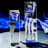 Premio di cristallo di vetro alto di Thumbtrophy come regali di affari (KS64022)