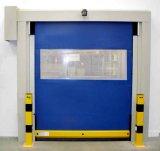 El Ce de alta velocidad de la puerta de la puerta del rodillo de alta velocidad del rodillo up/Industrial aprobado/vinilo de alta velocidad rueda para arriba la puerta