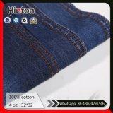 Donkerblauwe Stof van het Denim 100% de Katoenen Dunne Stof van Jeans 4oz