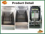 Friggitrice diritta popolare del gas dell'acciaio inossidabile della strumentazione della cucina