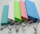 Крен силы карточки передвижной с микро- заряжателем телефона кабеля USB