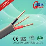 熱い販売の適用範囲が広く純粋な銅の平らな固体ケーブル