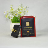 Rechteckiger Süßigkeit-Zinn-Kasten/Zinn-Behälter-/Metallzinn-Kästen