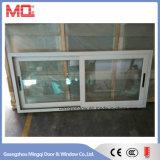 Ventana de aluminio de la doble vidriera de la ventana de desplazamiento del marco