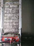Mur automatique plâtrant la machine avec le rendement de fonctionnement de Hight