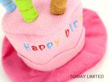Шлемы любимчика именниного пирога вспомогательного оборудования кота праздника собаки способа