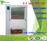 """2.4 """" écran de TFT LCD de 240X320 MCU 8/16bit 37pin pour la position, sonnette, médicale"""
