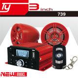 Grande amplificatore di potere 100W~200W del sistema di deviazione standard FM del USB dell'allarme del motociclo
