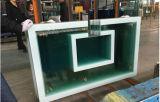 バスケットボール背板のための緩和されたガラスの薄板にされたガラスカラー陶磁器のフリットにされたガラス